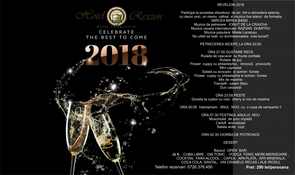 Revelion-Craiova-2018-Hotel-Rexton